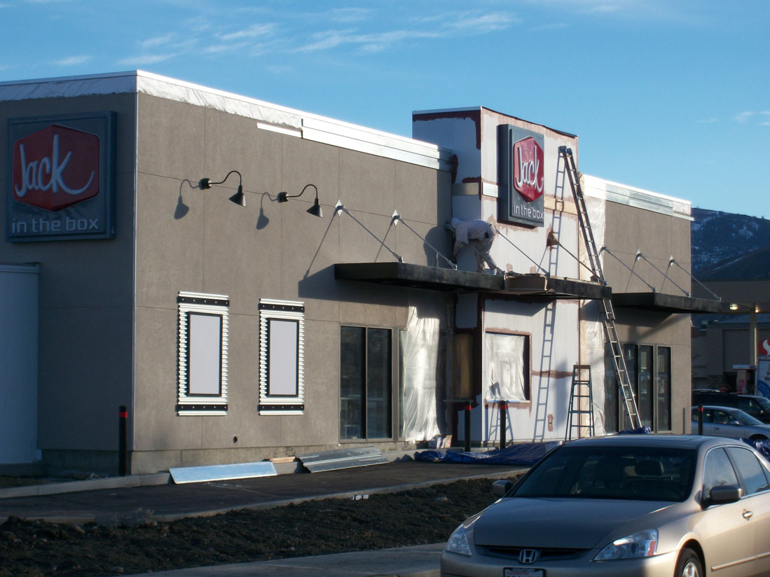 Paint Exterior of Jack In The Box
