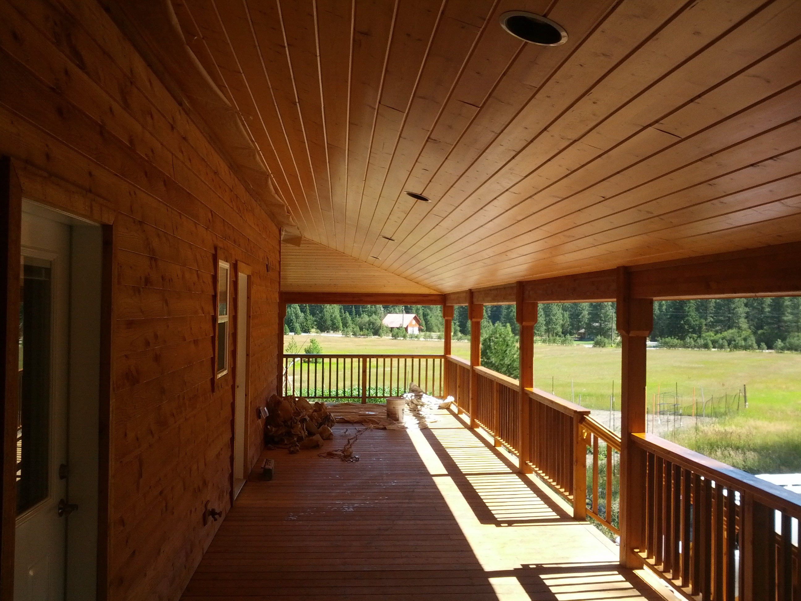 Plain Stain House American Quality Coatings